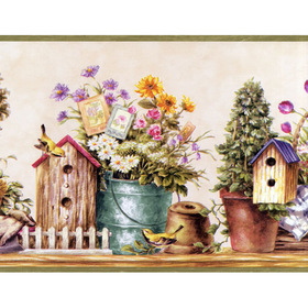 Fine Decor Garden Border 7002-B50164