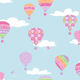 Fine Decor Hot Air Balloons 2679-002113