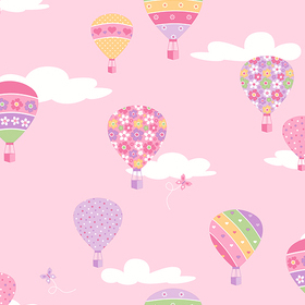 Fine Decor Hot Air Balloons 2679-002114