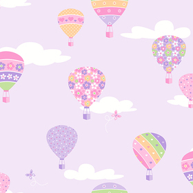 Fine Decor Hot Air Balloons 2679-002115