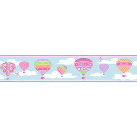 Fine Decor Hot Air Balloons 2679-50128