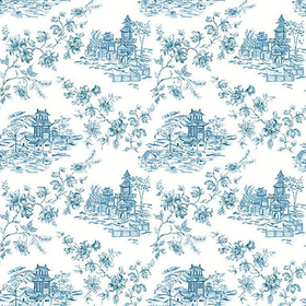 Fine Decor Laure Blueberry Toile 2657-22219