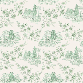 Fine Decor Laure Green Toile 2657-22220