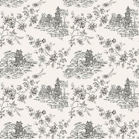 Fine Decor Laure Ink Toile 2657-22223