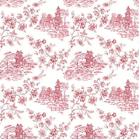 Fine Decor Laure Merlot Toile 2657-22221
