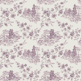 Fine Decor Laure Purple Toile 2657-22222
