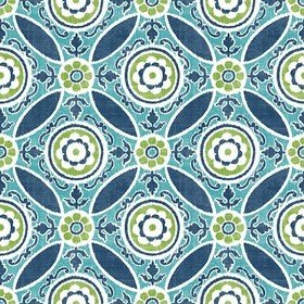 Fine Decor Maya Teal 2744-24115