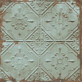 Fine Decor Tin Ceiling Teal 2701-22331