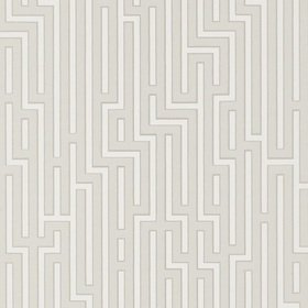GP & J Baker Fretwork Soft Grey BW45007-8