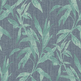 Galerie Leaves Green-Blue TP21234