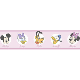 Galerie Mickey Friends Icons Border MK3523-2