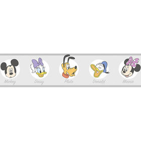 Galerie Mickey Friends Icons Border MK3523-3