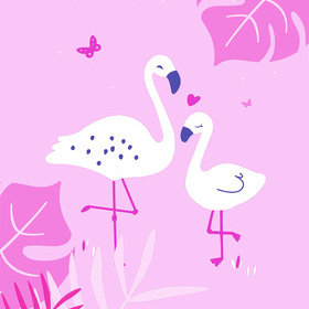 Galerie Pink Flamingo ND21150