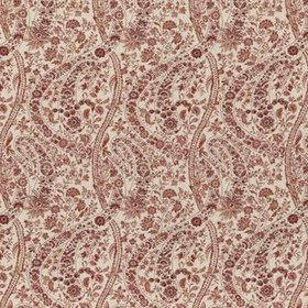 GP & J Baker Bukhara Paisley Red BP10835-2