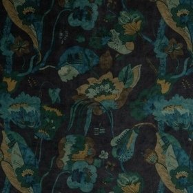 GP & J Baker California Velvet Indigo-Teal BP10813-1