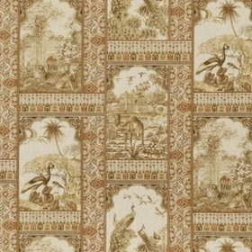 GP & J Baker Indienne Toile Tobacco BP10834-2