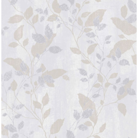 Graham & Brown Vermeil Leaf Grey 104050