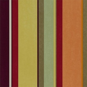 Harlequin Bella Stripe Aubergine-Strawberry-Lime-Tangerine 110049