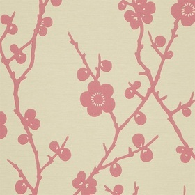 Harlequin Blossom Pale Cerise-Neutral 75300