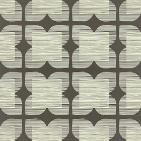 Orla Kiely Flower Tile Graphite 110420