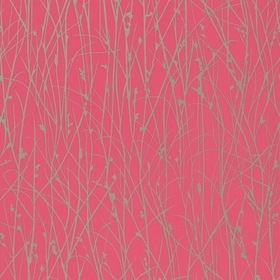 Harlequin Grasses Hot Pink-Pewter 110153