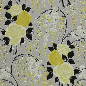 Harlequin Iola Rose Soft Limes-Charcoal-Gilver 75022