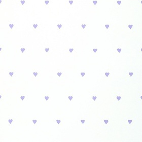 Harlequin Love Hearts Candy Lilac-White 70502