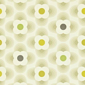 Orla Kiely Multi Striped Petal Cool Stone 110407