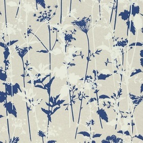 Harlequin Nettles Natural-White-Indigo 110171