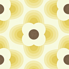 Orla Kiely Striped Petal Straw 110405