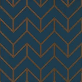 Harlequin Tessellation Marine-Copper 111986
