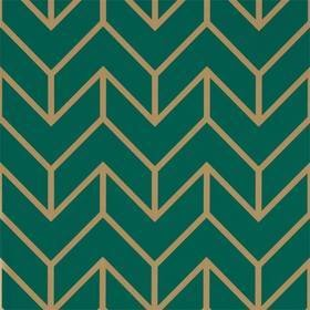Harlequin Tessellation Teal-Gold 111984