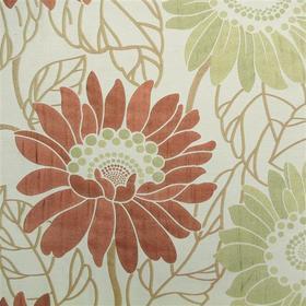 Hardy charlotte terracotta wj242 20 h s fabrics - Wallpaper store charlotte nc ...