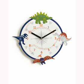 Arthouse Dino Doodles Clock 008302
