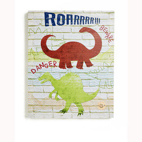 Arthouse Dino Doodles Canvas With Sound 004154