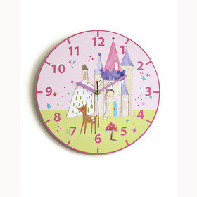S.J. Dixon Princess Clock 008312
