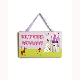 S.J. Dixon Princess Door Sign 004176