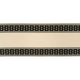 Kravet Dotty Border Domino T30736-818