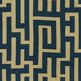 Kravet Indigo Collection Beige-Indigo 4178-516