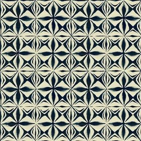 Kravet Indigo Collection Ivory-Indigo 34100-51