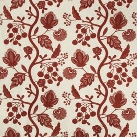 Lee Jofa Alladale Embroidery Red 2017131-19