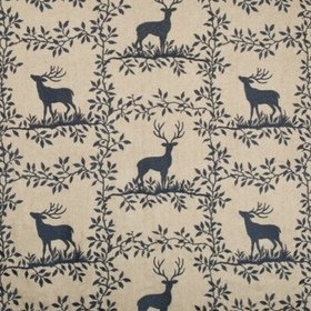 Lee Jofa Caribou Embroidery Navy 2017123-50