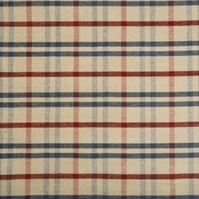 Lee Jofa Fannin Plaid Ruby-Navy 2017125-519