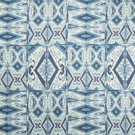 Lee Jofa Trent Ikat Linen Lake 2017139-550