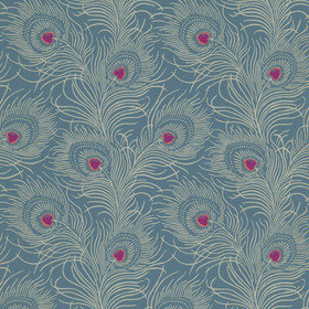 Little Greene Carlton House Terrace Blue Plume 0256CTBLUEP