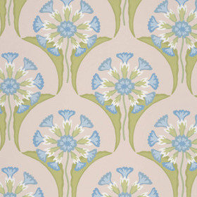 Little Greene Hencroft Blue Primula 0245HEBLUEP