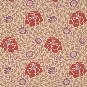 Little Greene Lansdowne Walk Plum 0273LWPLUMZ