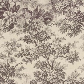 Little Greene Stag Toile Chocolat 0284SGCHOCO