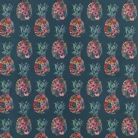 Matthew Williamson Ananas Dark Teal-Scarlet-Jade F7245-03