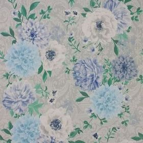 Matthew Williamson Duchess Garden Grey-Persian Blue-White W7147-05